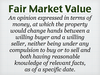 What is fair market value in Kamloops?