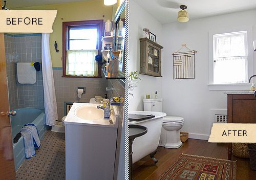 Beautiful Bathroom Makeover Before And After Slideshow Today S Homeowner  With Small Bathroom Makeovers