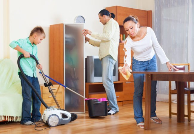 Family Cleaning Services : The only cleaning guide for new home owners you ll ever