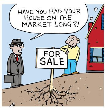 How long house listed