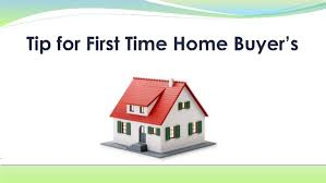 First time buyers tips