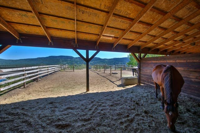 Horse facility at Jandana Guest Ranch