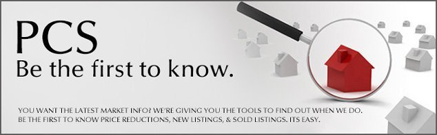 PCS real estate listings to your email