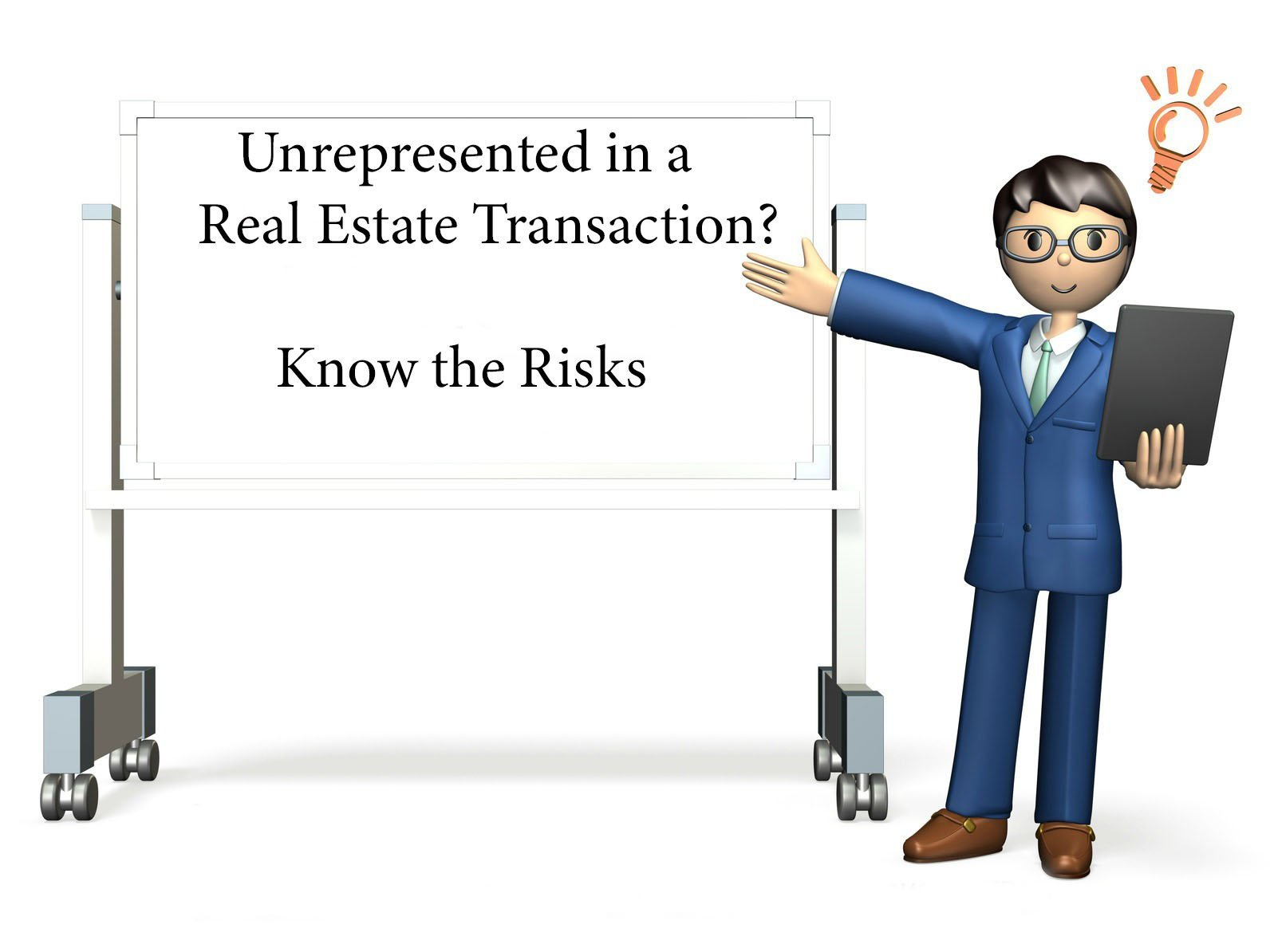 KNow the risks of being unrepresented