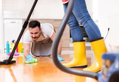 Clean your home together