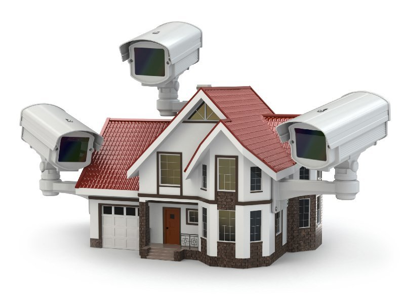 Home surveilance camera and real estate